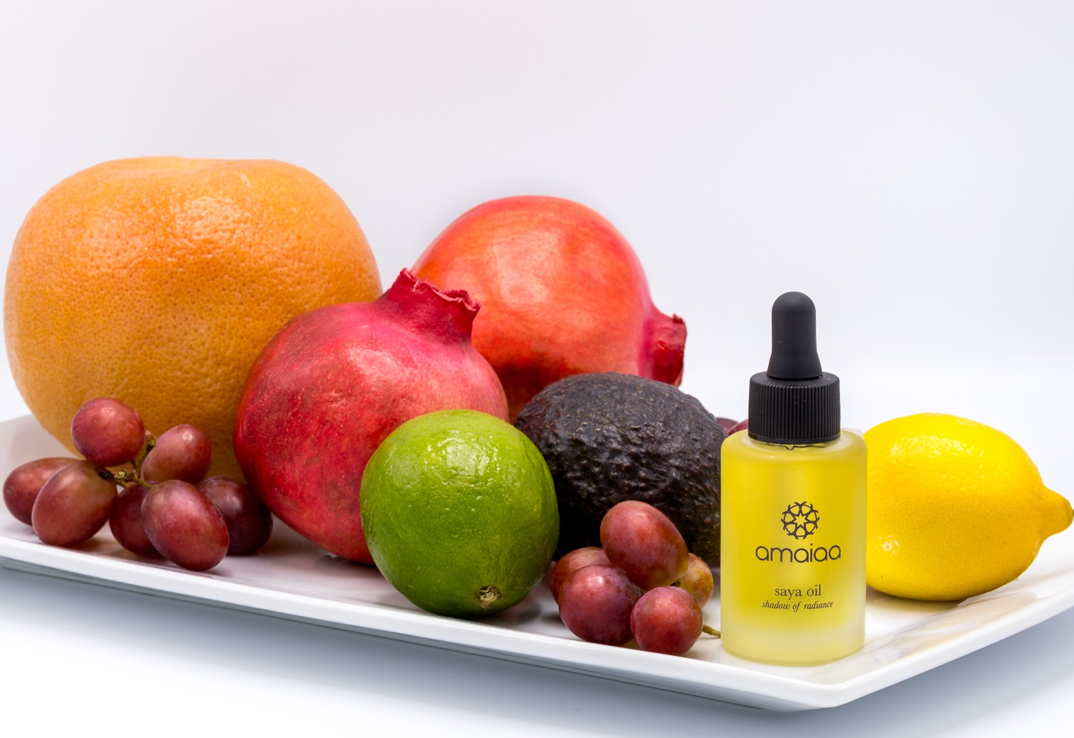 saya all natural facial elixir oil with fruits