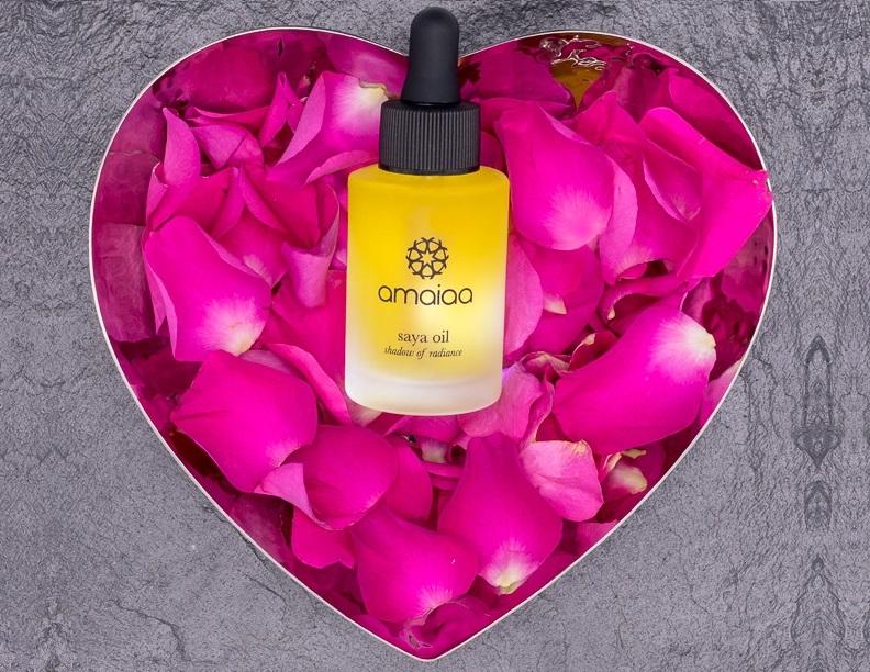 Luxury Facial Oils, saya collection - all natural night time facial elixir oil