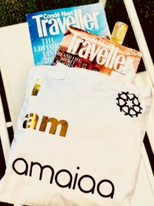 amaiaa tote bag with any 30ml natural facial oil