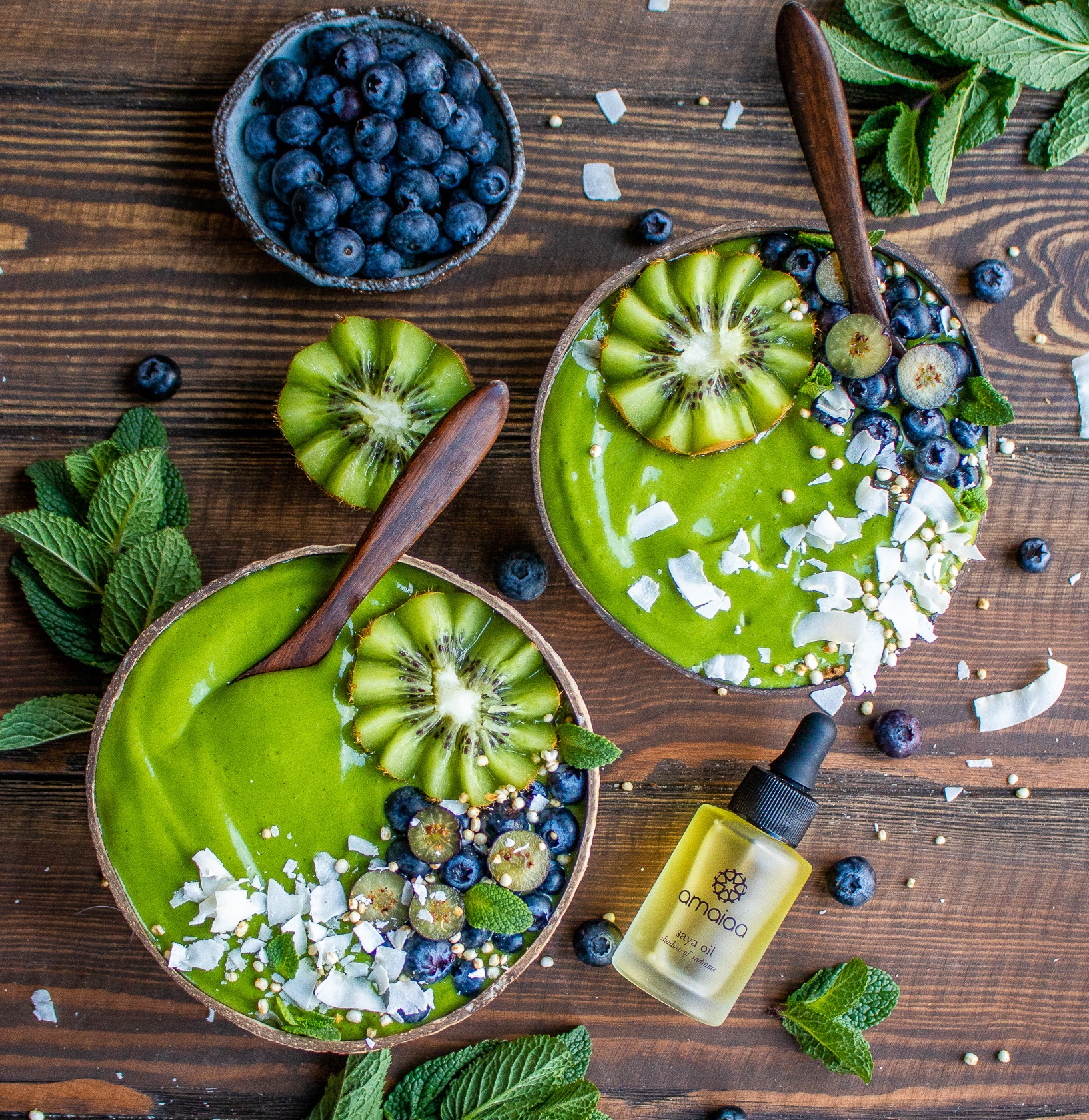 Green Beauty Recipe - Green Goddess by Happy Skin Kitchen