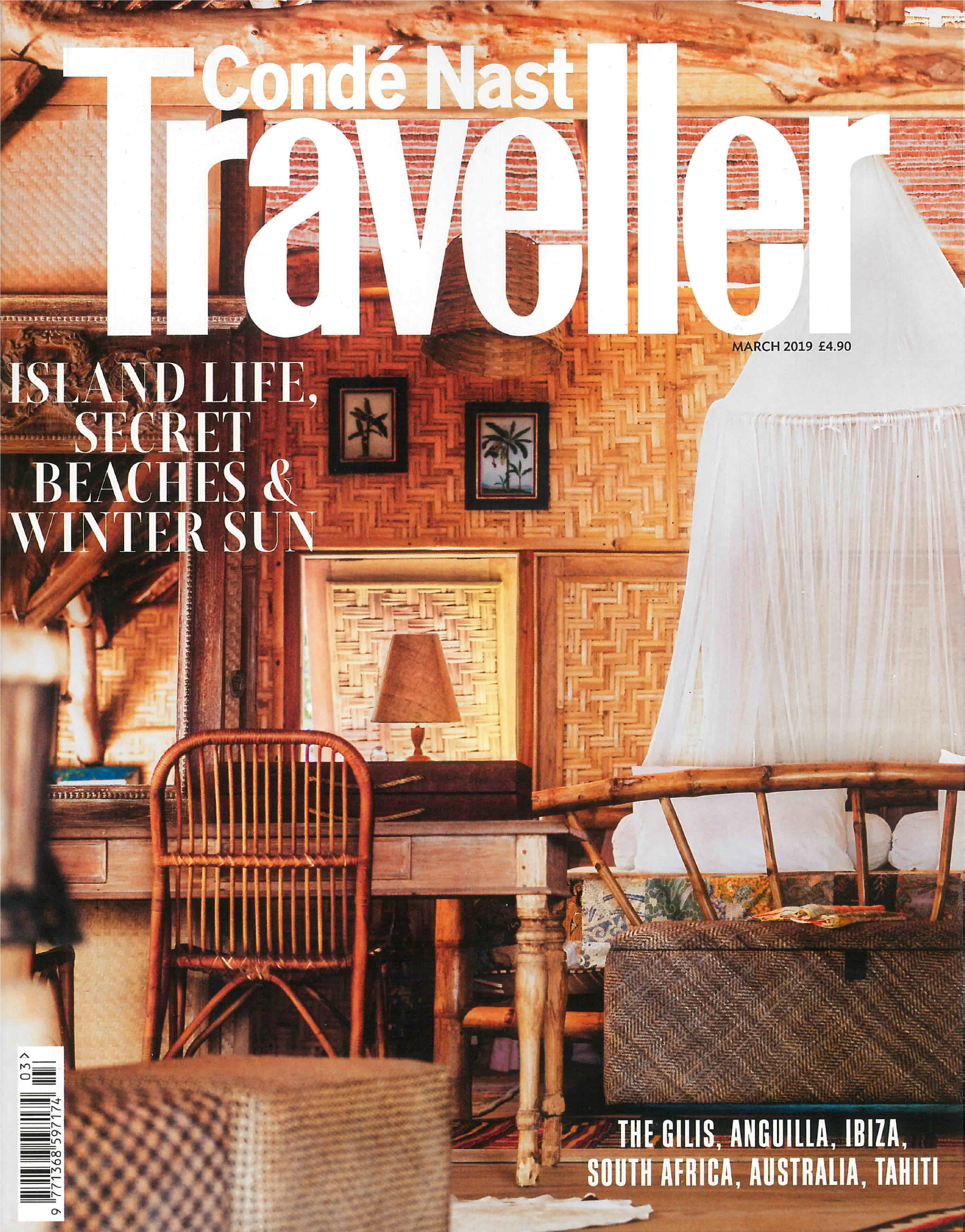 Conde Nast Traveller features amaiaa beauty's saya facial oil
