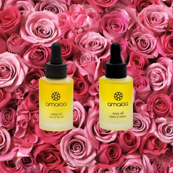 amaiaa beauty - all natural facial oils for morning and night time
