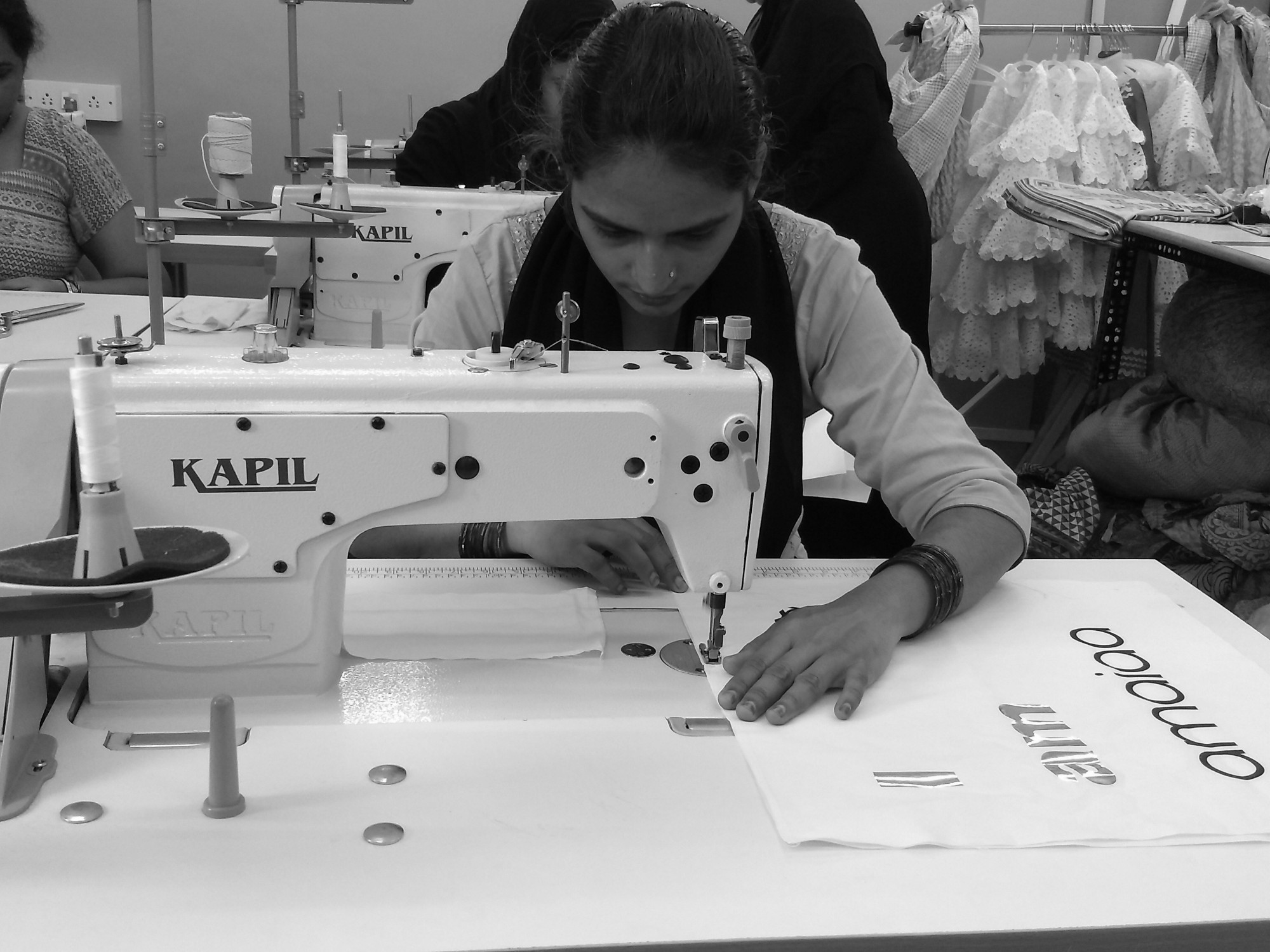 amaiaa tote bag tailoring by a women in india