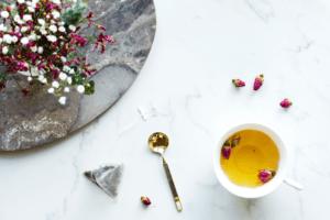 Jasmine Silver Needles and Rose Buds Tea by amaiaa beauty