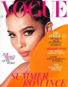 Vogue UK cover July 2019
