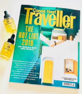 Conde Traveler May 2019 cover