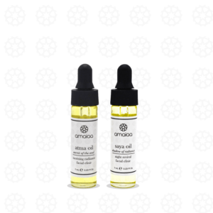 atma and saya mini size - luxury facial oils
