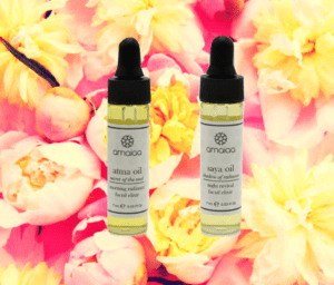 luxury facial oils - try me sizes - amaiaa set