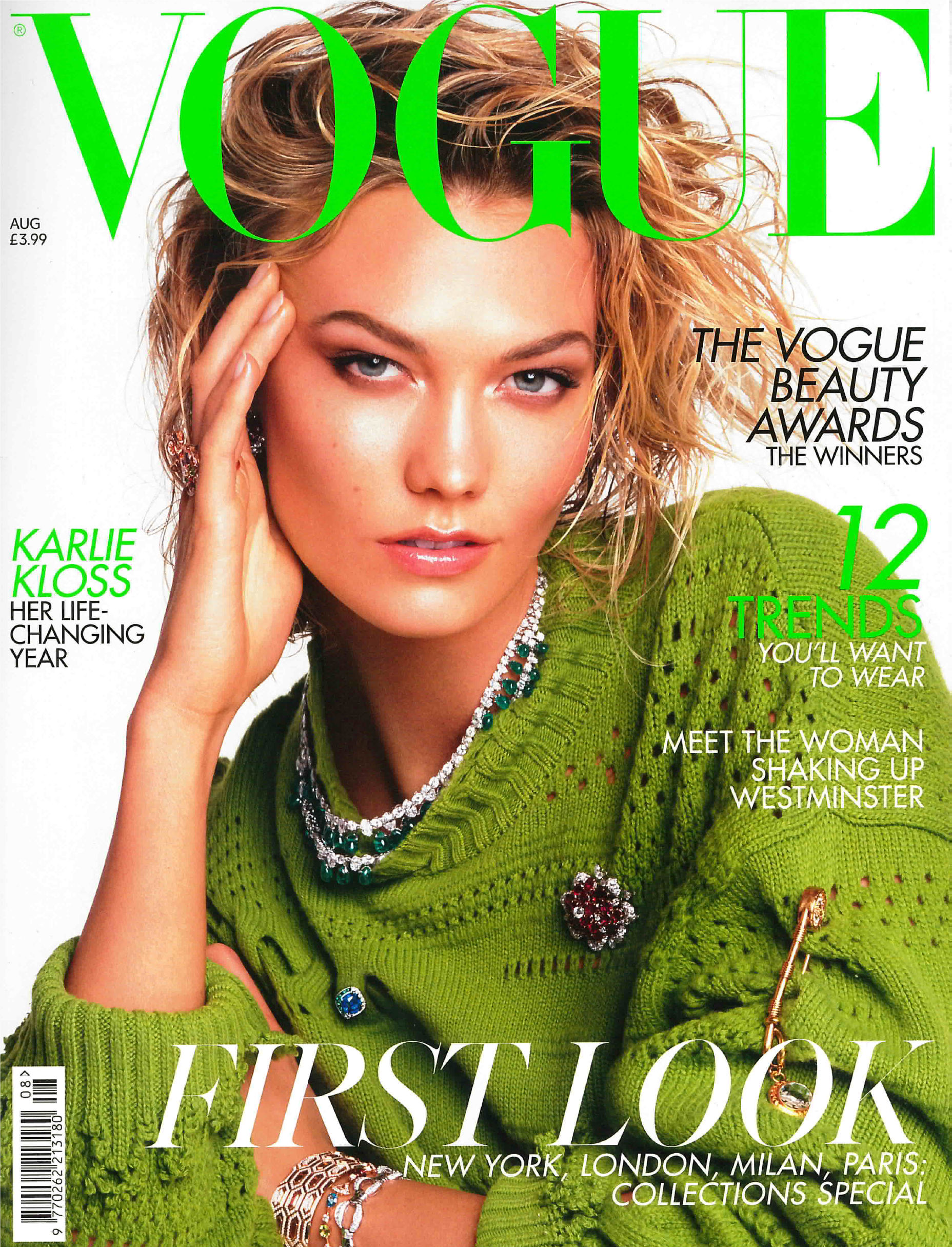 Vogue UK cover august 2019