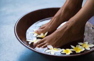 Bedtime Rituals - Soak Your Feet