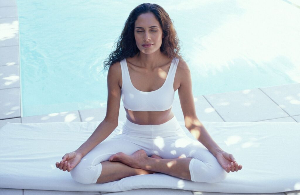 Meditating Helps To Improve Your Skin